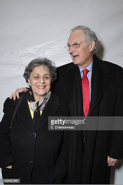 Arlene Alda and Alan Alda at the Walt Disney Pictures premiere of National TreasureBook of Secrets on December 13 2007 at the Ziegfeld Theatre in New...