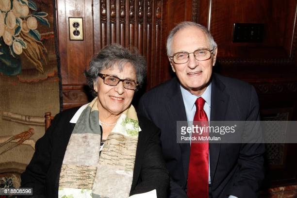 Arlene Alda and Alan Alda attend Book Signing for Marilyn Berger's This Is A Soul The Mission of Rick Hodes at New York Public Library on April 13...