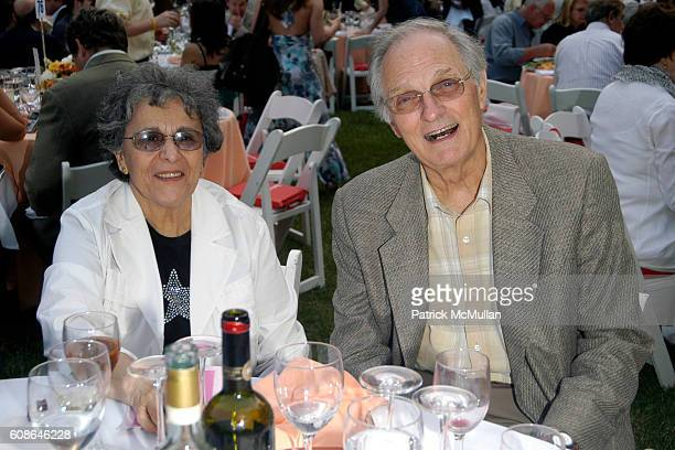 Arlene Alda and Alan Alda attend Public Theatre Gala at Central Park on June 19 2007 in New York City