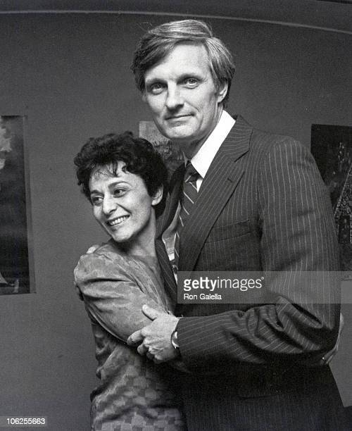 Arlene Alda and Alan Alda during The Four Seasons New York Premiere Press Party at Lincoln Center Library in New York City New York United States