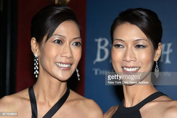 Arlene and Ada Tai are on hand at the Ziegfeld Theatre on W 54th St for the world premiere of Big Fish They're in the film
