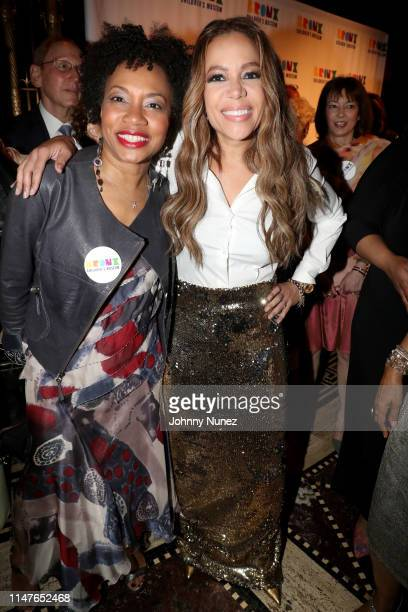 Arlene Bascom and Sunny Hostin attend the Bronx Children's Museum Third Annual Gala and Benefit Honoring Rita Moreno at Gotham Hall on May 07 2019 in...