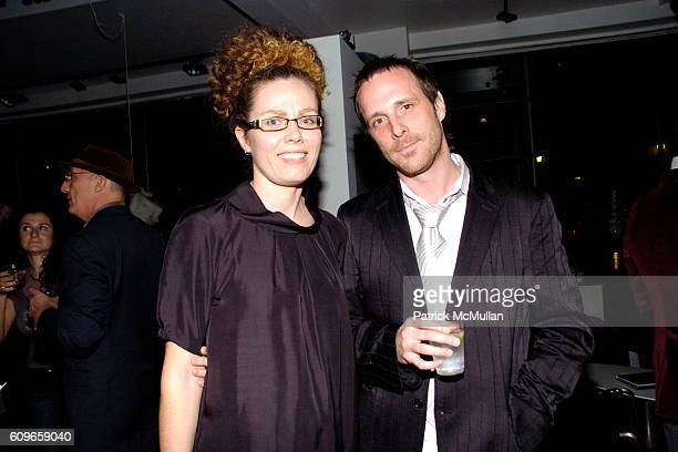 Arlene Bell and Brandon Bell attend KolDesign/BoConcept 5th Annual Holiday Party at BoConcept on December 11 2007 in New York City