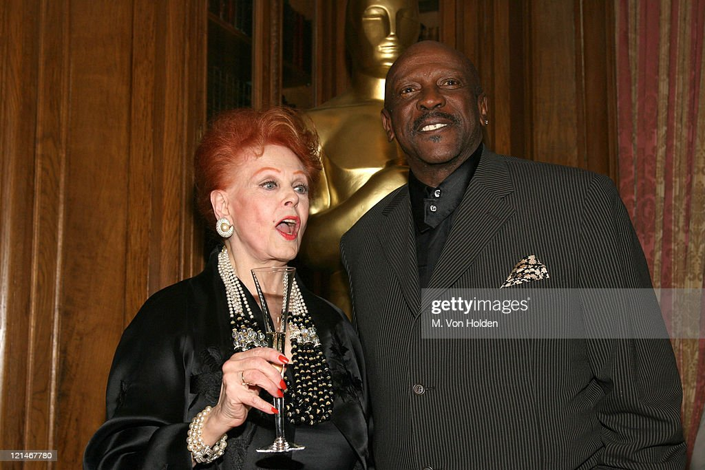 Arlene Dahl and Louis Gossett Jr. during The 78th Annual Academy Awards Official New York Party at St. Regis Hotel in New York City, New York, United States.
