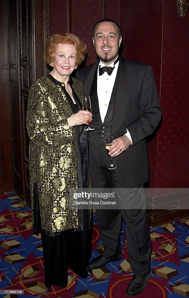 Arlene Dahl and Marc Rosen during New York Oscar Night Party at Le Cirque 2000 in New York City, New York, United States.