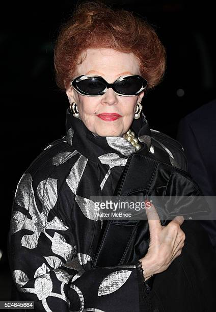 Arlene Dahl attending the Memorial To Honor Marvin Hamlisch at the Peter Jay Sharp Theater in New York City on 9/18/2012