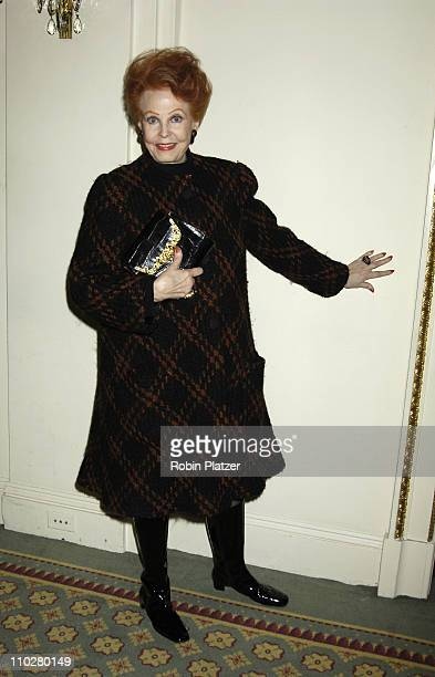 Arlene Dahl during 17th Annual PAL Women of the Year Luncheon Honoring Lorraine Bracco and Susan Lyne at The Pierre Hotel in New York City New York...