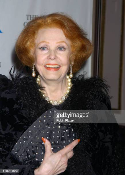 Arlene Dahl during Merv Griffin Honored at the Museum of Television and Radio's Annual Gala at The Waldorf Astoria Hotel in New York City New York...