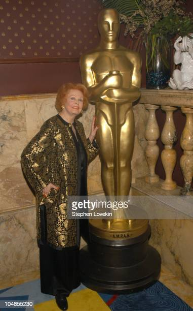 Arlene Dahl during Official 2003 Academy of Motion Picture Arts and Sciences Oscar Night Party at Le Cirque 2000 at Le Cirque 2000 in New York NY...