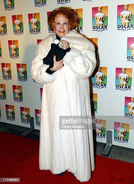 Arlene Dahl during Official 2005 Academy of Motion Picture Arts Sciences Oscar Night Party at Gabriel's at Gabriel's Restaurant and Bar in New York...