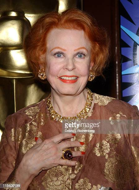 Arlene Dahl during Official Academy of Motion Picture Arts and Sciences Oscar Night Party at Le Cirque 2000 in New York City New York United States