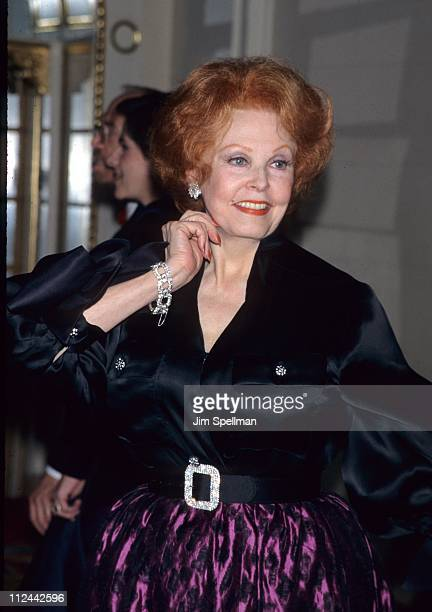Arlene Dahl during The 1998 Red Ball
