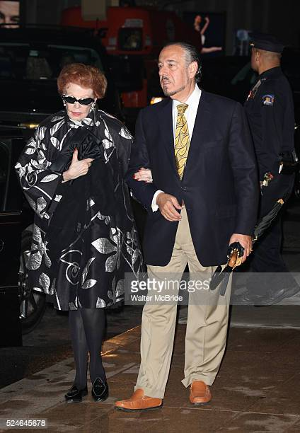 Arlene Dahl Husband Marc Rosen attending the Memorial To Honor Marvin Hamlisch at the Peter Jay Sharp Theater in New York City on 9/18/2012