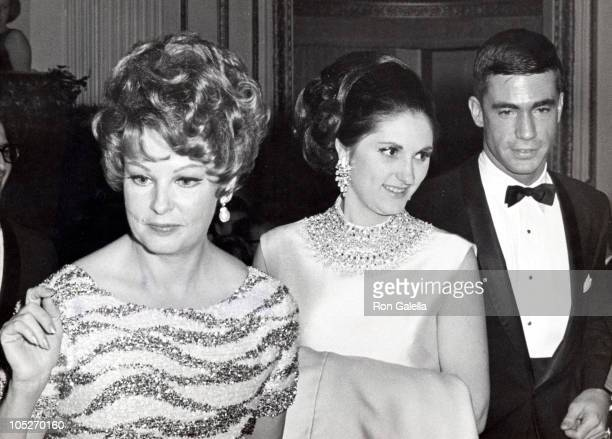 Arlene Dahl Lynda Johnson Robb and Charles Robb during 'Doctor Faustus' New York City Premiere After Party at Plaza Hotel Grand Ballroom in New York...