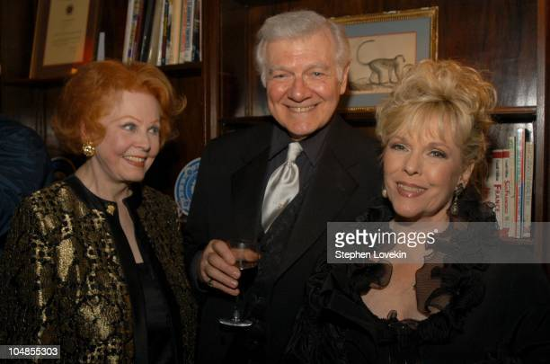 Arlene Dahl Richard Barkley and Eileen Fulton during Official 2003 Academy of Motion Picture Arts and Sciences Oscar Night Party at Le Cirque 2000 at...