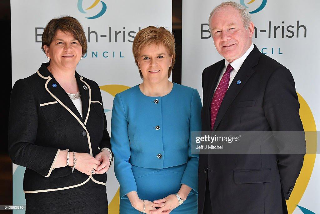 Nicola Sturgeon Hosts The 26th Annual British-Irish Council Summit Meeting