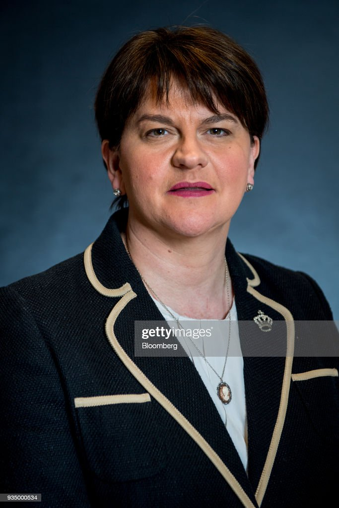 Northern Ireland's Democratic Unionist Party Leader Arlene Foster Interview