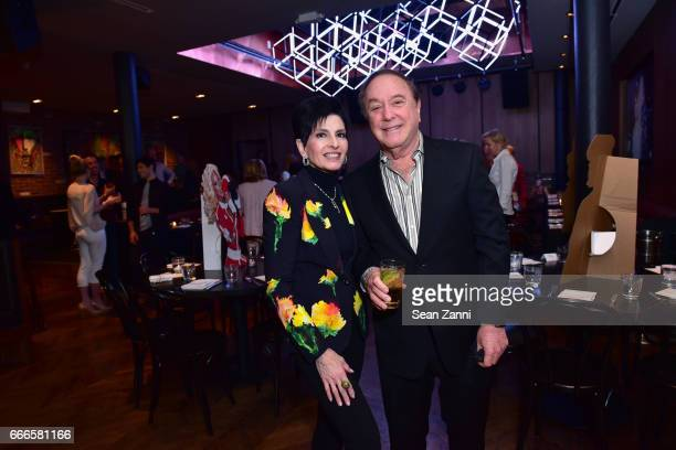 Arlene Lazare and Alan Lazare attend Bitches Who Brunch: Debra's Birthday Edition on April 9, 2017 in New York City.