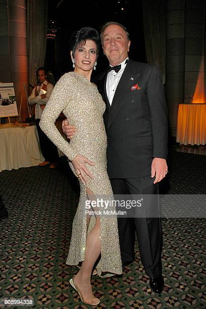 Arlene Lazare and Allan Lazare attend ARTRAGEOUS Gala Dinner and Art Auction at Cipriani 42nd Street on May 23, 2007 in New York City.