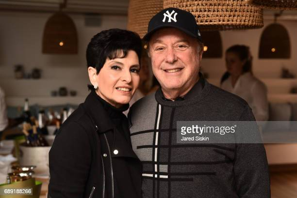 Arlene Lazare and Allan Lazare attend AVENUE on the Beach Kicks off Summer 2017 at Calissa on May 27, 2017 in Water Mill, New York.