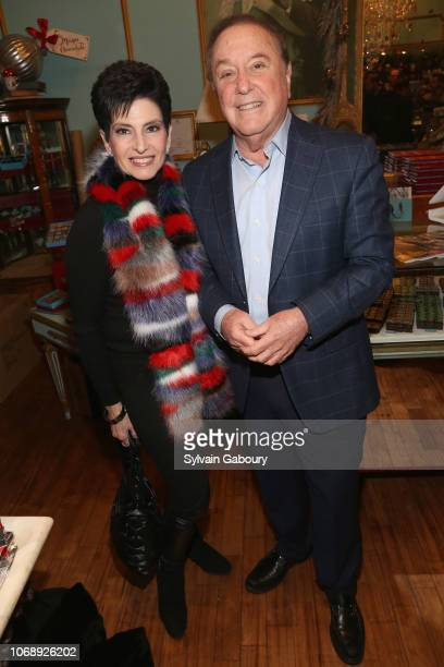 Arlene Lazare and Allan Lazare attend Maribel Lieberman Of MarieBelle Chocolates Celebrates Resident Magazine December 2018 Cover at MarieBelle New...