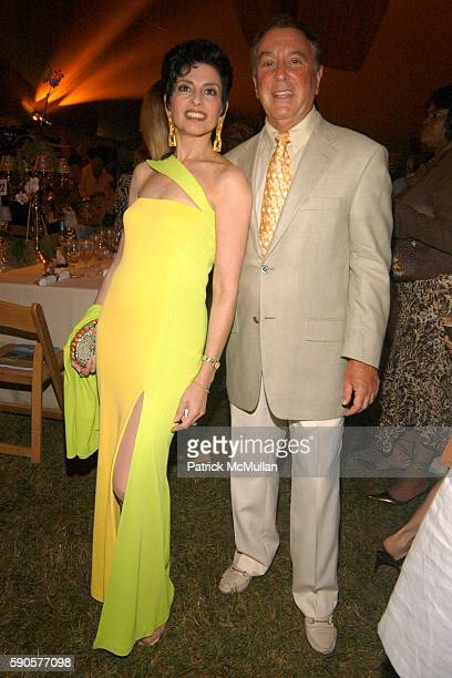 Arlene Lazare and Allan Lazare attend SAFARI SUMMER Benefit for the Departmant of Emergency Medicine at Southampton Hospital at Southampton on August...
