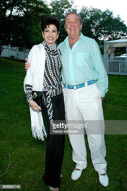 Arlene Lazare and Dr. Allan Lazare attend PMc Hosts SUSAN LUCCI Event With Boulevard Magazine at Hamptons Hideway on August 18, 2007 in Hamptons, NY.