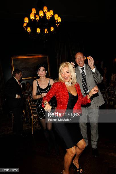 Arlene Lazare, Andrea Warshaw-Wernick and Joel Wernick attend ROBERT LYSTER & CASSANDRA SEIDENFELD LYSTER'S FETE D' AMOUR at The New York Tennis &...