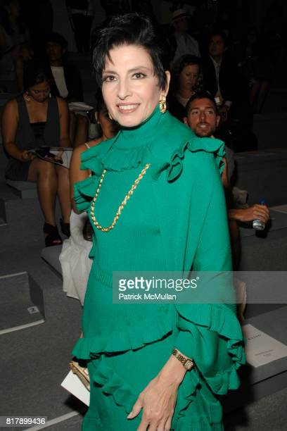 Arlene Lazare attends DENNIS BASSO Spring/Summer 2011 Fashion Show at The Studio at Lincoln Center on September 14, 2010 in New York City.