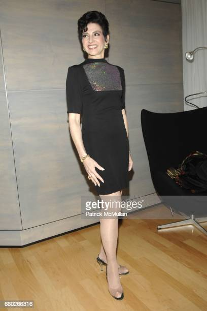 Arlene Lazare attends JOAN JEDELL & HAMPTON SHEET MAGAZINE & AKA LUXURY LONG STAY LODGING Host SPRING INTO SUMMER ROOFTOP RECEPTION at AKA on June...