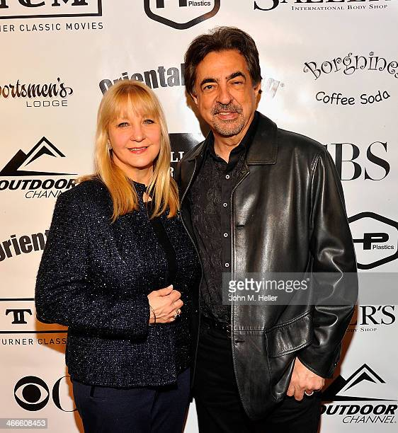 Arlene Mantegna and actor Joe Mantegna attend the 2nd annual Borgnine Movie Star Gala honoring actor Joe Mantegna at the Sportman's Lodge on February...