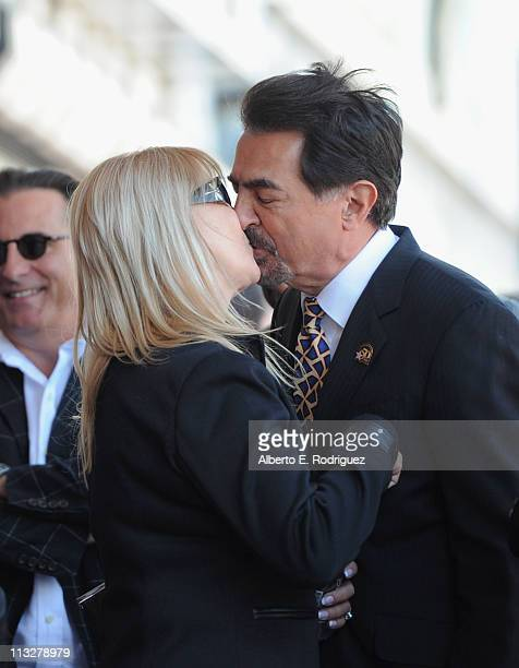 Arlene Mantegna and actor Joe Mantegna attend the star ceremony honoring actor Joe Mantegna with the 2438th star on the Hollywood Walk of Fame on...