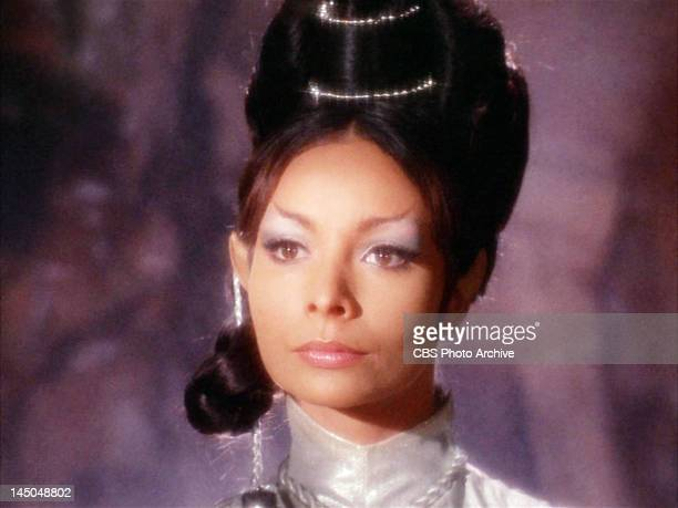 Arlene Martel as T'Pring a Vulcan in the STAR TREK episode Amok Time Original airdate September 15 season 2 episode 1 Image is a screen grab
