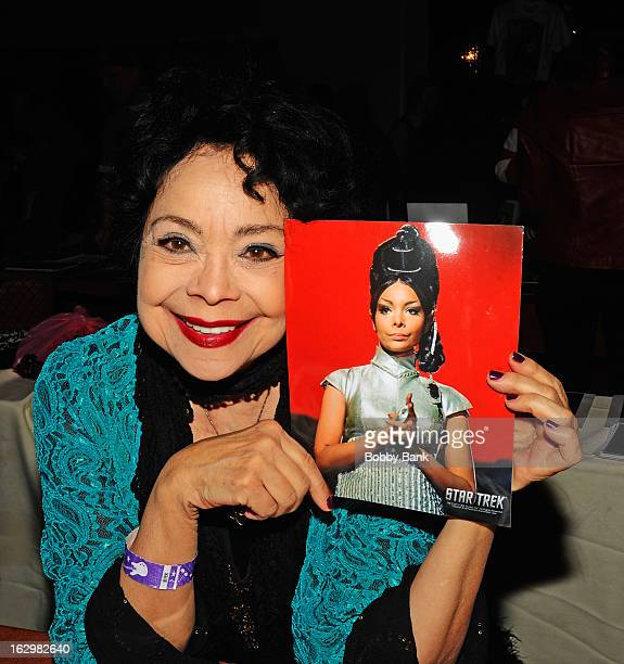 Arlene Martel attends the David T Jones Memorial / Monkees Convention 2013 at the Sheraton Meadowlands Hotel Conference Center on March 2 2013 in...