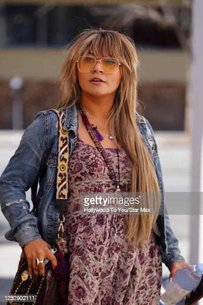 Arlene Moon is seen on May 14, 2021 in Los Angeles, California.
