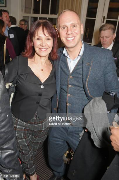 Arlene Phillips and Robert Rinder attend the launch of InterTalent Rights Group at BAFTA on March 6 2018 in London England