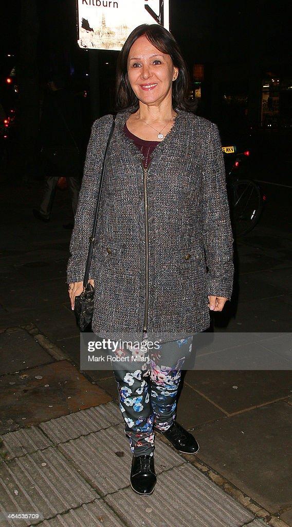 Celebrity Sightings In London - January 22, 2014