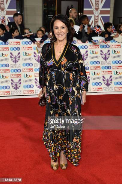 Arlene Phillips attends Pride Of Britain Awards 2019 at The Grosvenor House Hotel on October 28, 2019 in London, England.