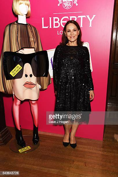 """Arlene Phillips attends the after party of the world premiere of """"Absolutely Fabulous: The Movie"""" at Liberty on June 29, 2016 in London, England."""