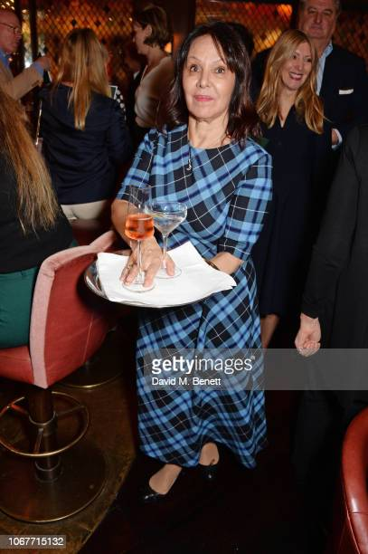Arlene Phillips attends the annual 'One Night Only At The Ivy' in aid of Acting For Others on December 2 2018 in London England