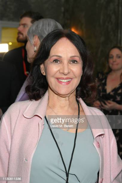 Arlene Phillips attends the press night after party for 'Only Fools And Horses The Musical' at The Haymarket Hotel on February 19 2019 in London...