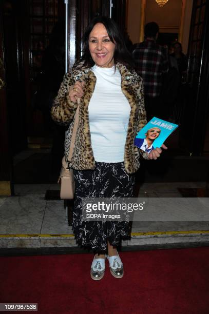 Arlene Phillips seen during the event Everybodys Talking About Jamie hosts a media night with special guests to celebrate the new cast that includes...