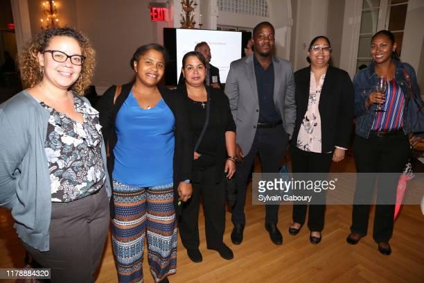 Arlene Rivera Rhonda Sanchez Brenda Agostini Kyle Moore Annmariee Singh and Lea Edmond attend Single Parent Resource Center's 2019 Fall Fete at...