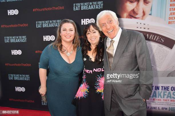 Arlene Silver Aimee Hyatt and Dick Van Dyke at the LA Premiere of If You're Not In The Obit Eat Breakfast from HBO Documentaries on May 17 2017 in...