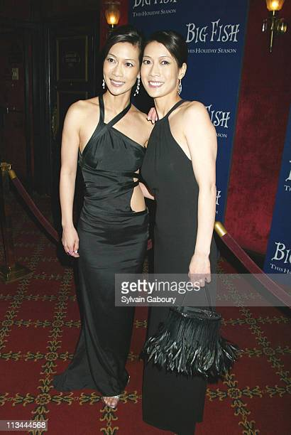 Arlene Tai Ada Tai during Big Fish premiere at Ziegfeld Theater in New York New York United States