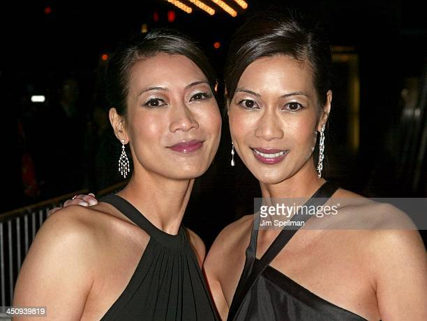Arlene Tai and Ada Tai during Big Fish New York Premiere Outside Arrivals at Ziegfeld Thrater in New York City New York United States