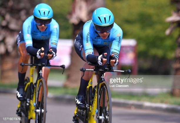Arlenis Sierra Canadilla of Cuba and Astana Womens Team / during the 31st Giro d'Italia Internazionale Femminile 2020, Stage 1 a 16,8km Team Time...
