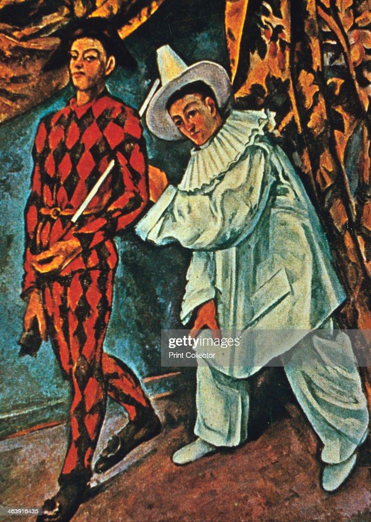 Arlequin et Pierrot\', 1888. Artist: Paul Cezanne Pictures   Getty Images