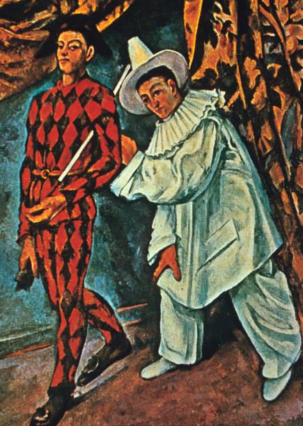 Arlequin et Pierrot\', 1888. Artist: Paul Cezanne Pictures | Getty ...