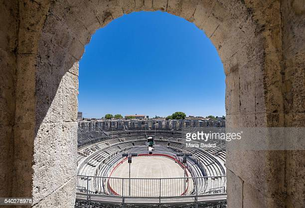 Arles Amphitheatre, Arles, southern France (part of Unesco world heritage site)